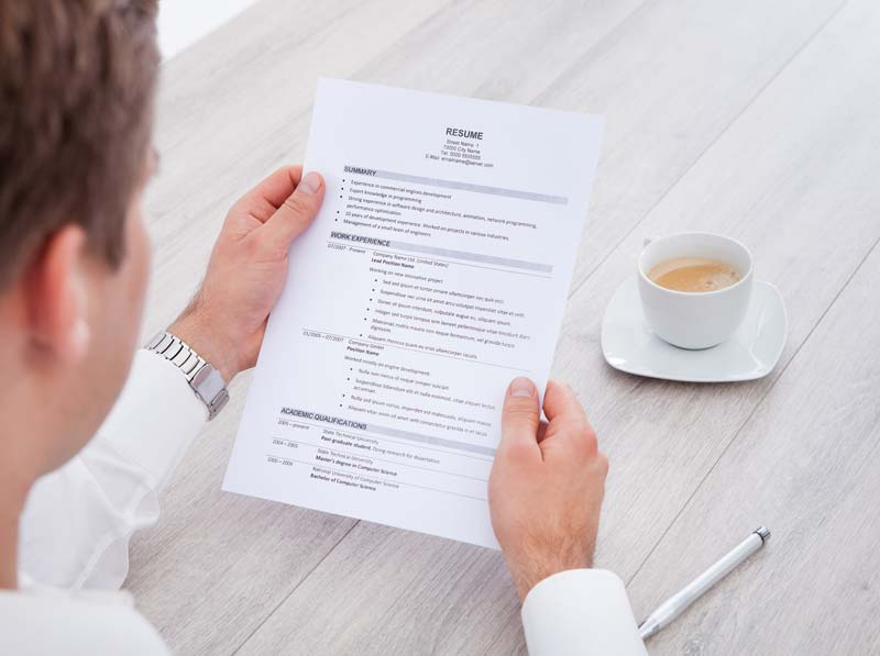 How to write a CV that passes the 30 second test