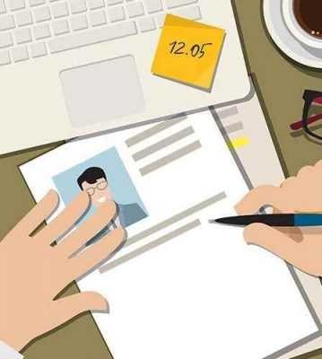 How to write a CV that passes the 10 second test