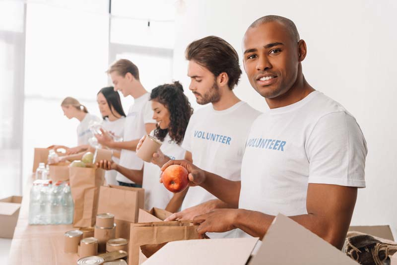 Volunteering: learn executive leadership